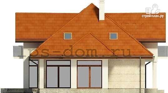 Фото 6: проект каркасный дом из высококачественной доски первого сорта 150х50