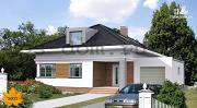 Проект уютный дом в современном стиле, для большой семьи