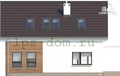 Фото 9: проект каркасный дом с совмещённой гостиной и кухней