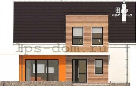 Фото 8: проект каркасный дом с совмещённой гостиной и кухней