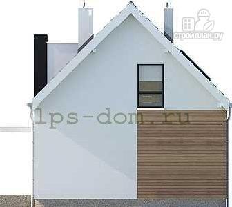 Фото 11: проект каркасный дом с совмещённой гостиной и кухней