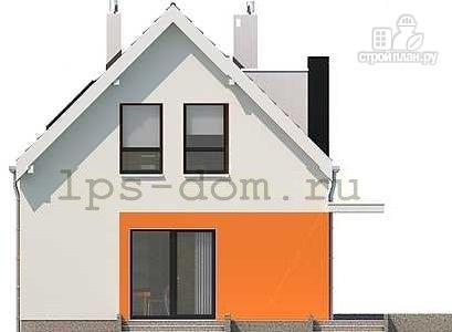 Фото 10: проект каркасный дом с совмещённой гостиной и кухней