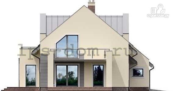 Фото 6: проект каркасный дом со вторым светом в гостиной