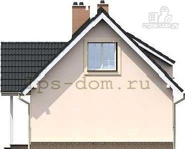 Фото 7: проект каркасный дом с камином на террасе