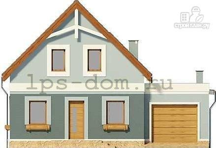 Фото 4: проект дом каркасный с гаражом