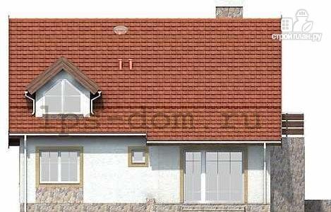Фото 5: проект дом каркасный, с балконом