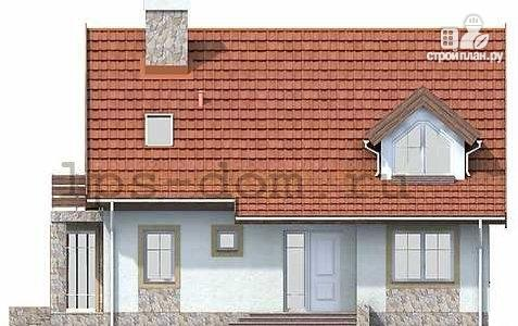 Фото 4: проект дом каркасный, с балконом