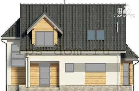Фото 6: проект трехэтажный каркасный дом с гаражом в цоколе