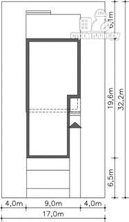 Фото 16: проект каркасный дом со вторым светом и гаражом на две машины