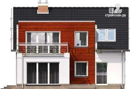 Фото 7: проект каркасный дом модерн с гаражом