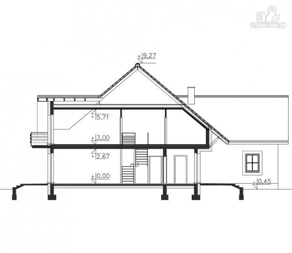 Фото 11: проект каркасный дом с гаражом на две машины