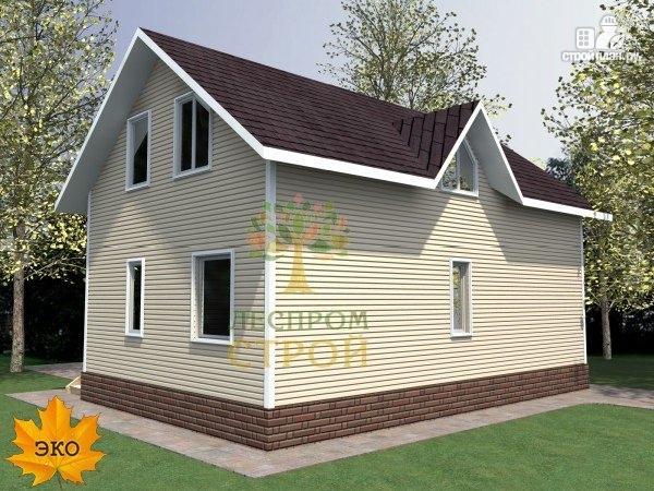 Фото 3: проект каркасный дом