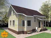 Проект каркасный дом