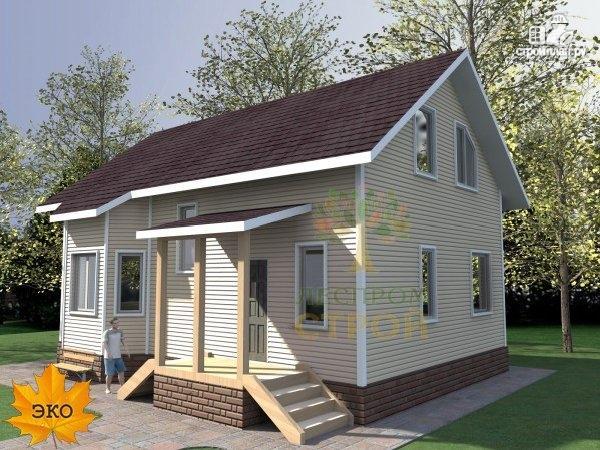 Фото 2: проект каркасный дом