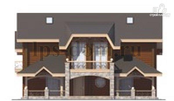 Фото 6: проект трёхэтажный бревенчаиый дом с баней и бассейном