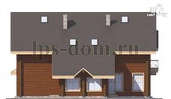 Фото 7: проект трёхэтажный бревенчаиый дом с баней и бассейном
