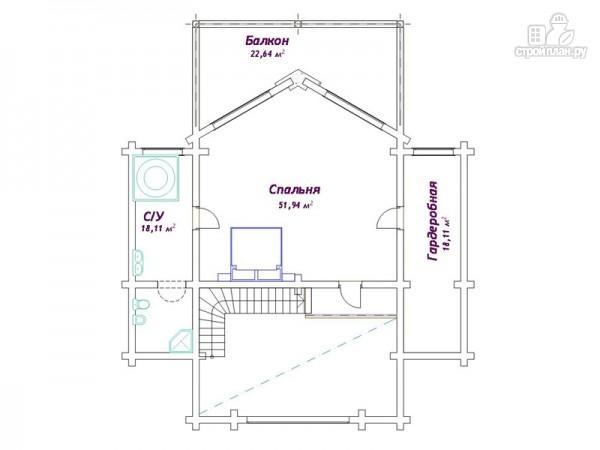 Фото 4: проект трёхэтажный дом с сауной