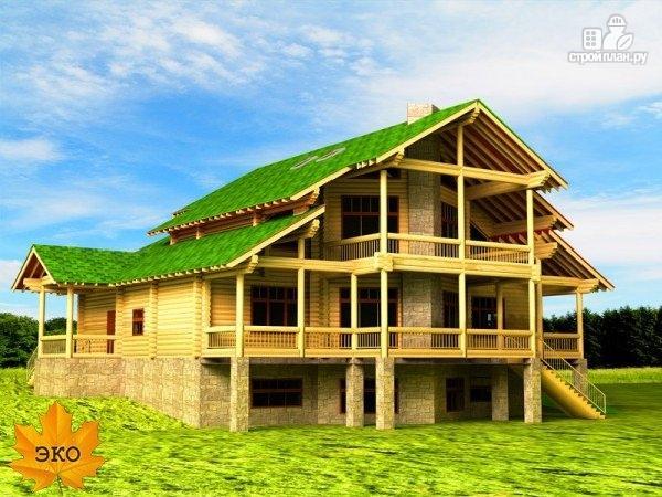 Фото: проект трёхэтажный дом с сауной