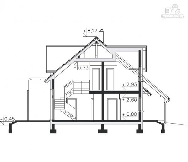 Фото 13: проект дом из бруса 150х150 мм