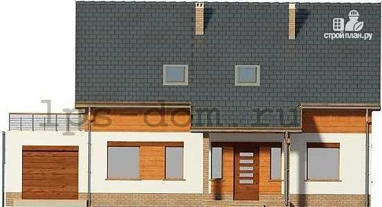 Фото 4: проект дом с террасой на втором этаже