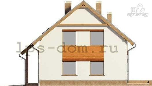 Фото 7: проект дом с террасой на втором этаже