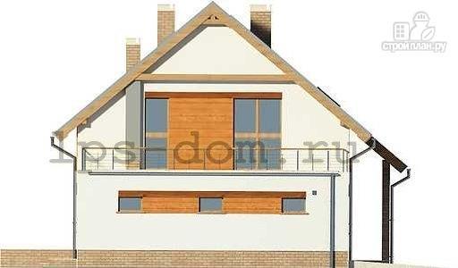 Фото 6: проект дом с террасой на втором этаже