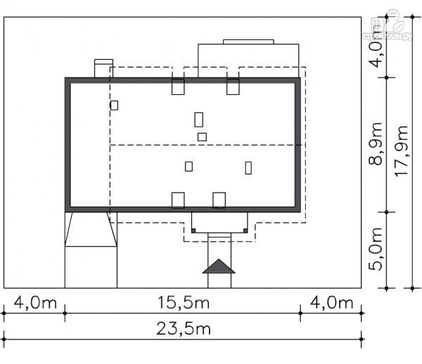 Фото 8: проект дом с террасой на втором этаже