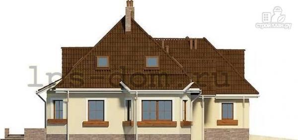 Фото 6: проект деревянный дом с гаражом на две машины
