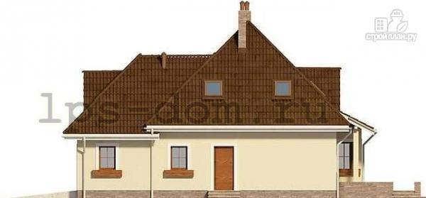 Фото 7: проект деревянный дом с гаражом на две машины