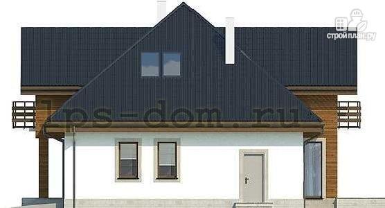 Фото 7: проект деревянный дом совмещённый с гаражом