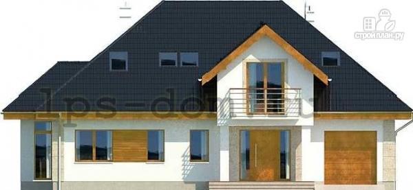 Фото 4: проект деревянный дом с гаражом
