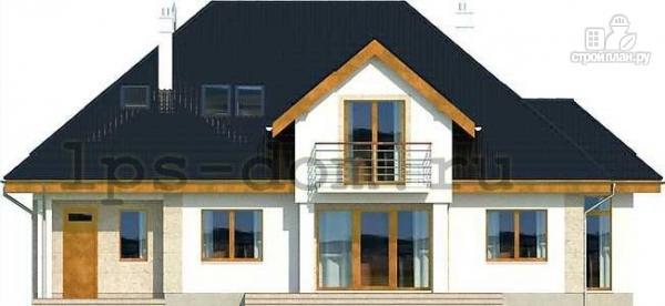 Фото 5: проект деревянный дом с гаражом