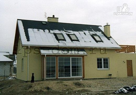 Фото 14: проект деревянный дом с террасой на втором этаже