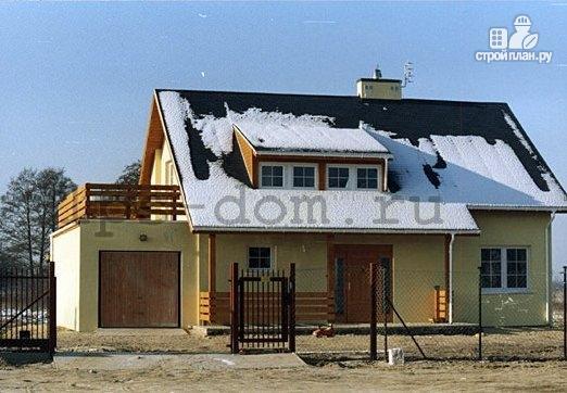 Фото 13: проект деревянный дом с террасой на втором этаже