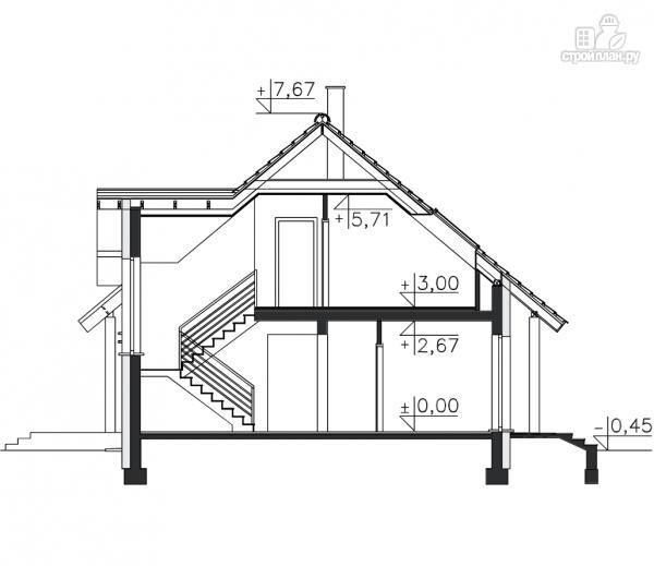 Фото 11: проект дом из бруса 150х150 мм