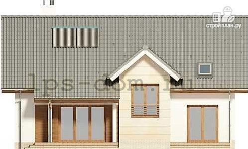 Фото 5: проект дом из бруса 150х150 мм