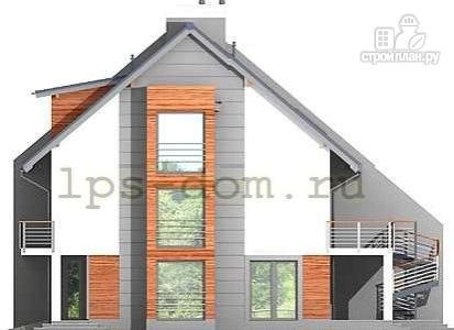 Фото 8: проект трёхэтажный дом из бруса на две семьи