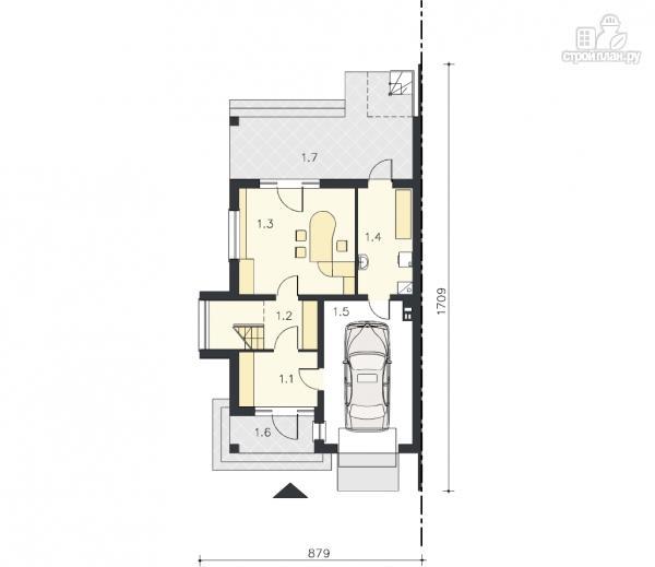 Фото 10: проект трёхэтажный дом из бруса на две семьи