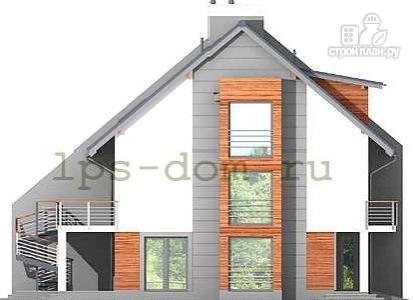 Фото 7: проект трёхэтажный дом из бруса на две семьи
