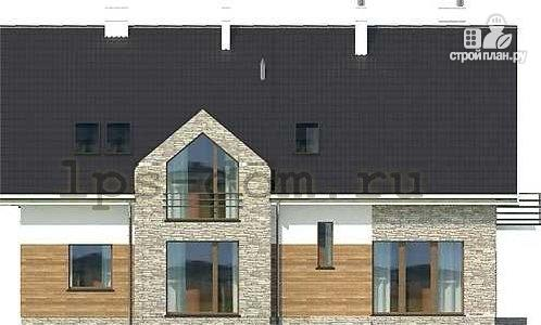 Фото 6: проект большой дом из бруса