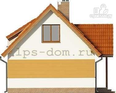 Фото 6: проект дом с мансардой и камином