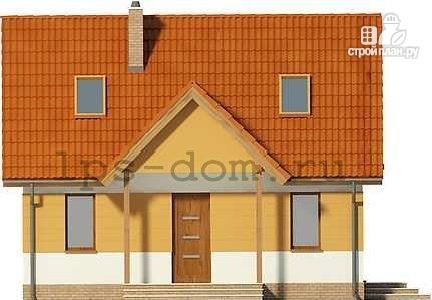 Фото 4: проект дом с мансардой и камином