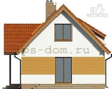 Фото 7: проект дом с мансардой и камином