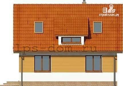 Фото 5: проект дом с мансардой и камином