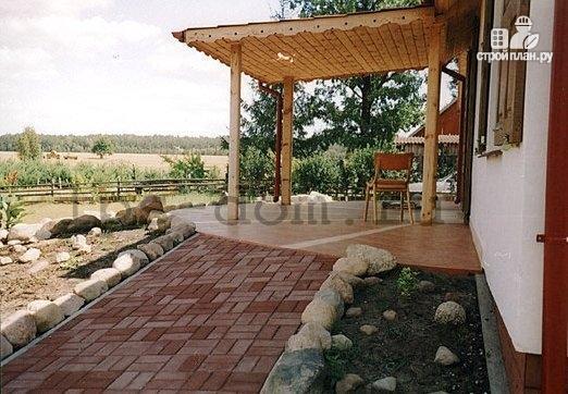 Фото 13: проект дом с мансардой и камином