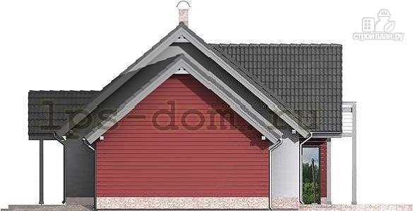 Фото 7: проект дом из бруса с гаражом