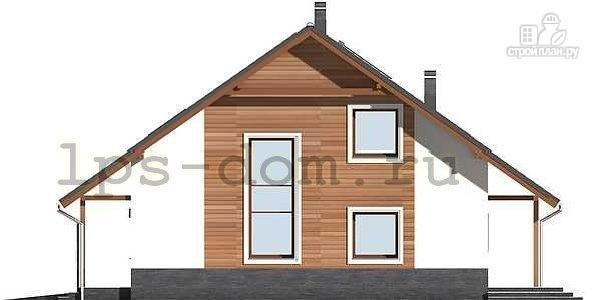 Фото 7: проект брусовой дом с камином и гаражом