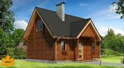 Проект дом из бруса 150х150 мм