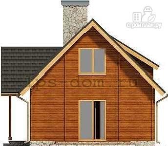 Фото 10: проект дом из бруса 150х150 мм