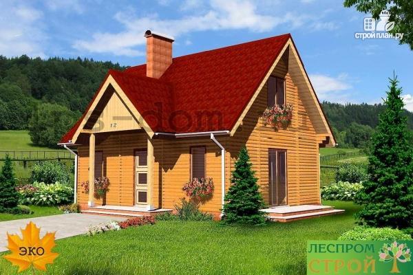 Фото 3: проект дом из бруса 150х150 мм